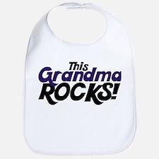 This Grandma ROCKS Bib