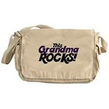 This Grandma ROCKS Messenger Bag