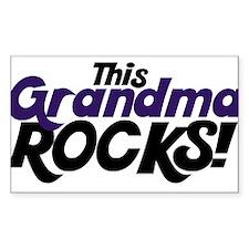 This Grandma ROCKS Decal
