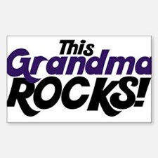 This Grandma ROCKS Decal