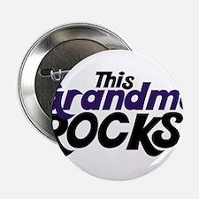 """This Grandma ROCKS 2.25"""" Button"""