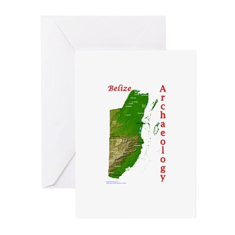 Maya Archaeology - Belize Greeting Cards (Package