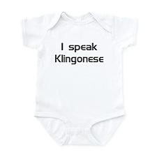 speak Kligonese Infant Creeper