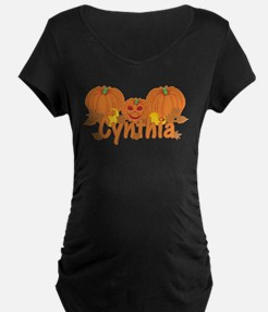 Halloween Pumpkin Cynthia T-Shirt