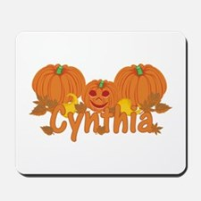 Halloween Pumpkin Cynthia Mousepad