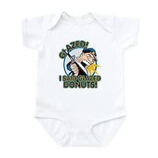 Police Glazed Donuts Infant Bodysuit