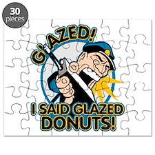 Police Glazed Donuts Puzzle