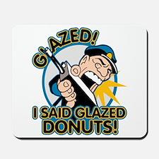 Police Glazed Donuts Mousepad