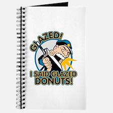 Police Glazed Donuts Journal