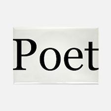 Poet Rectangle Magnet