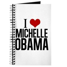 I Love Michelle Obama Journal