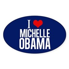 I Love Michelle Obama Decal