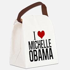 I Love Michelle Obama Canvas Lunch Bag