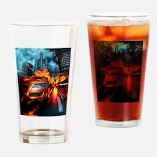 Night Rider Drinking Glass