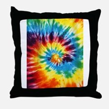 Tie Dye! Throw Pillow