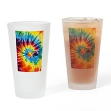 Tie Dye! Drinking Glass