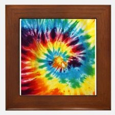 Tie Dye! Framed Tile