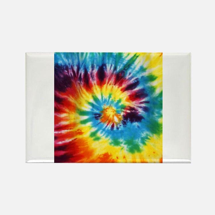 Tie Dye! Rectangle Magnet