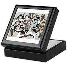Chickadees Keepsake Box