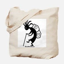 Kokopelli Backpacker Tote Bag