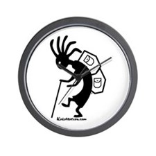 Kokopelli Backpacker Wall Clock