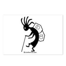 Kokopelli Backpacker Postcards (Package of 8)