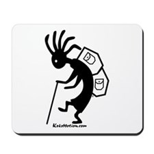 Kokopelli Backpacker Mousepad