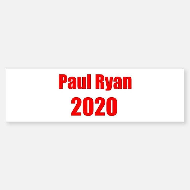 Paul Ryan 2020 Bumper Bumper Sticker