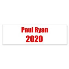 Paul Ryan 2020 Bumper Sticker