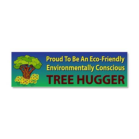 Tree Hugger ~ Car Magnet 10 x 3