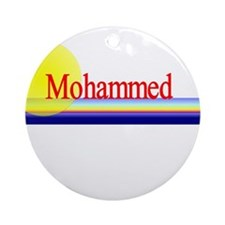 Mohammed Ornament (Round)