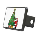 Santa and our star Rectangular Hitch Cover