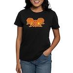 Halloween Pumpkin Donna Women's Dark T-Shirt