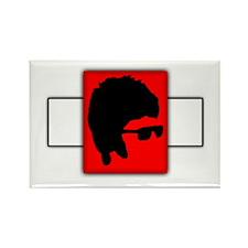 Rock Band Legend Rectangle Magnet