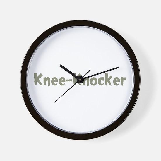 Knee-Knocker Wall Clock