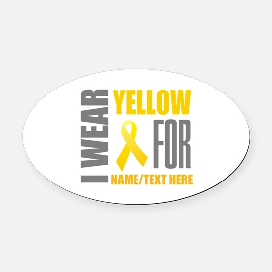 Endometriosis Ribbon Car Magnets CafePress - Custom awareness car magnet