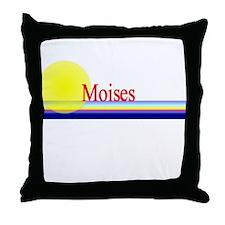 Moises Throw Pillow