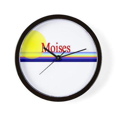 Moises Wall Clock