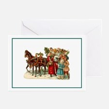 Vintage Carriage Greeting Cards (Pk of 10)