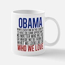 Obama Equality Mug