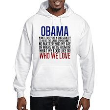 Obama Equality Hoodie