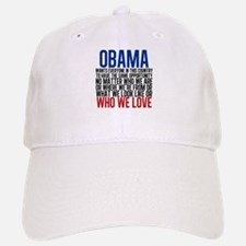 Obama Equality Baseball Baseball Cap