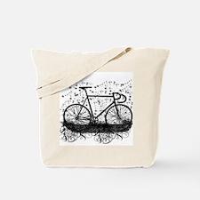 Track Bike Tote Bag