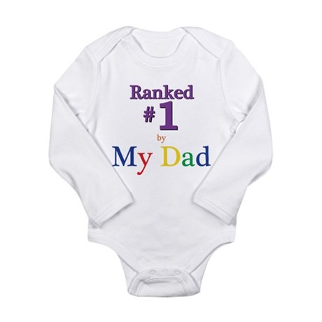 Ranked #1 by My Dad (SEO) Long Sleeve Infant Bodys