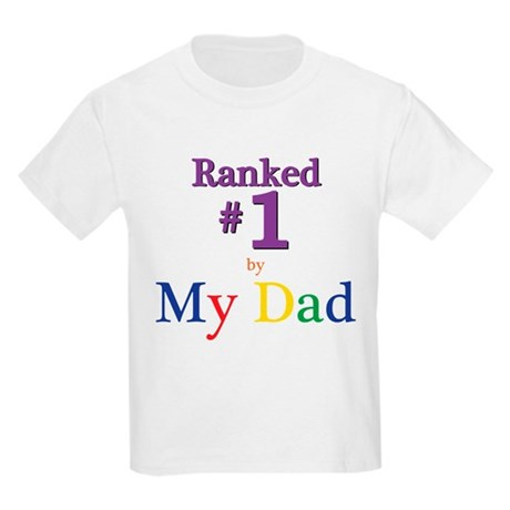 Ranked #1 by My Dad (SEO) Kids Light T-Shirt