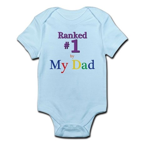 Ranked #1 by My Dad (SEO) Infant Bodysuit