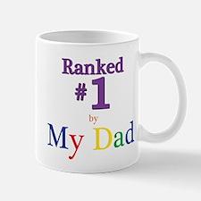Ranked #1 by My Dad (SEO) Mug