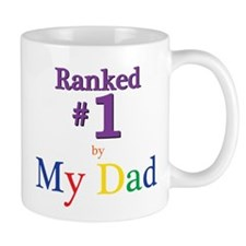 Ranked #1 by My Dad (SEO) Mug