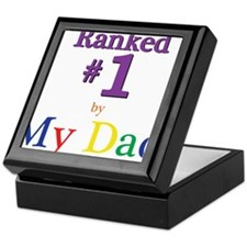 Ranked #1 by My Dad (SEO) Keepsake Box