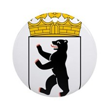 Berlin Wappen Ornament (Round)